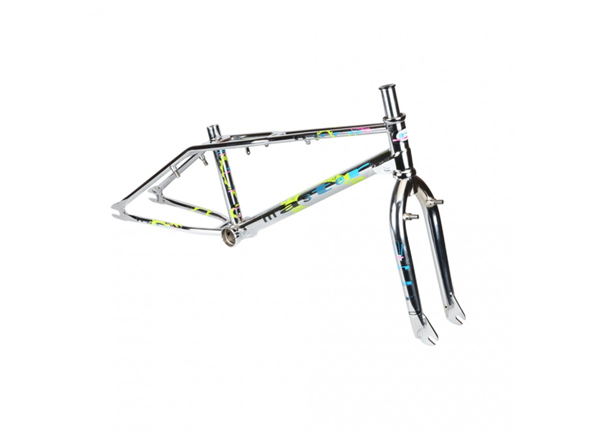 "Haro Old School BMX 2021 Haro Lineage Ground Master 19.5"" Frame and For Kit - CP"