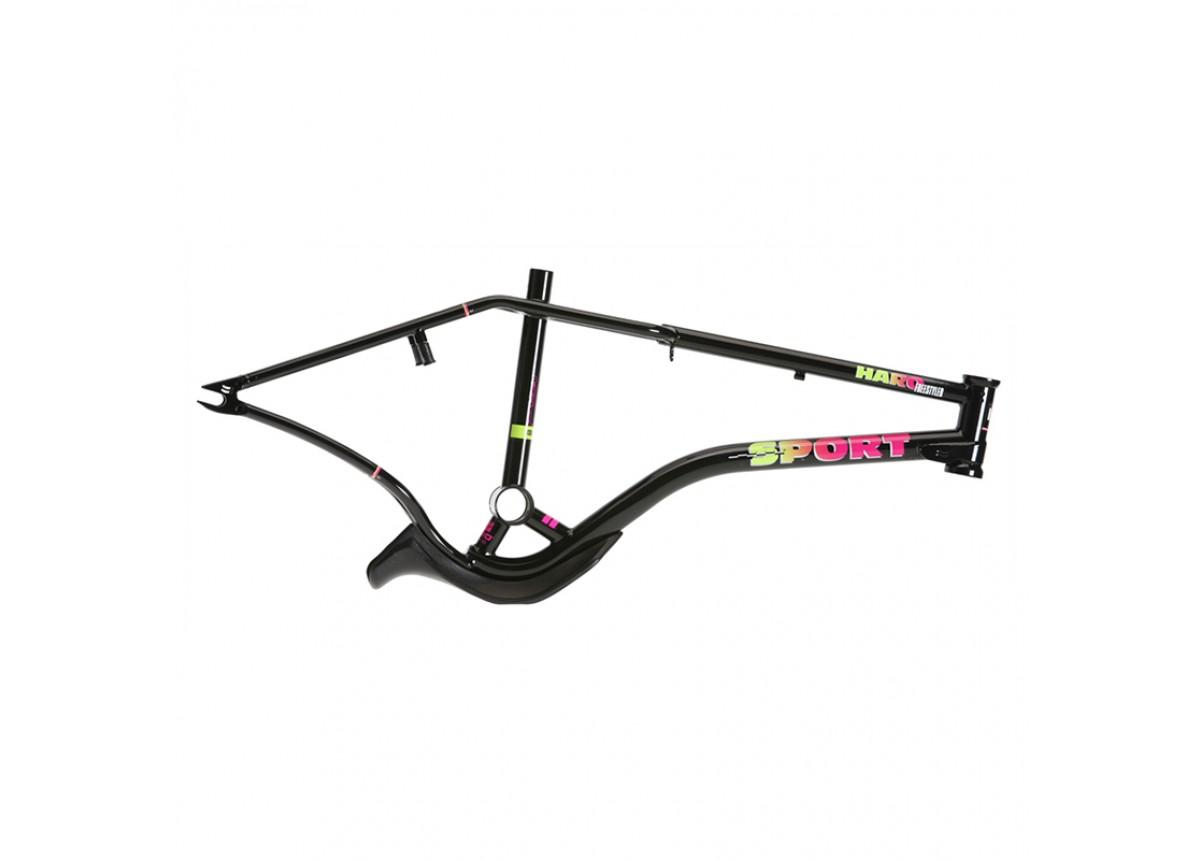 "Haro Old School BMX 2020 Lineage Sport Bashguard 21"" Frame Set Black"