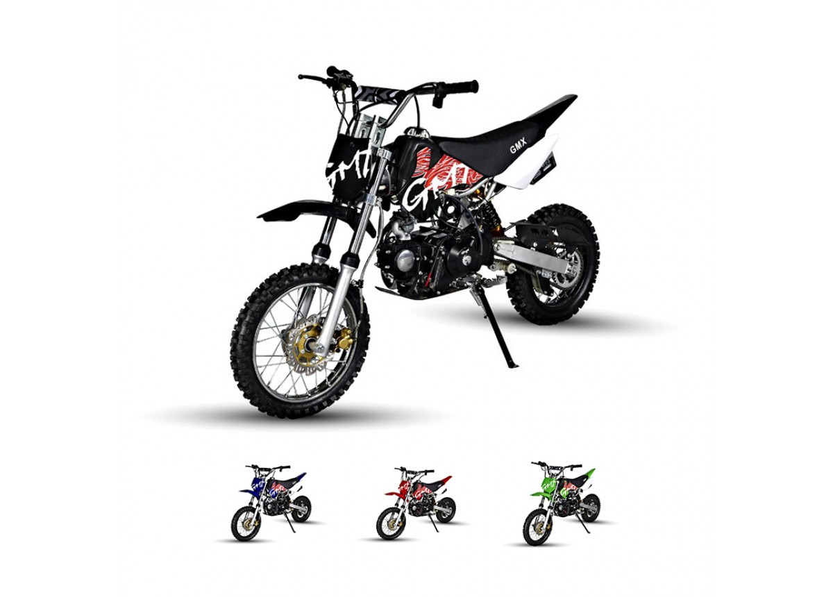gmx rider x dirt bike 125cc  black
