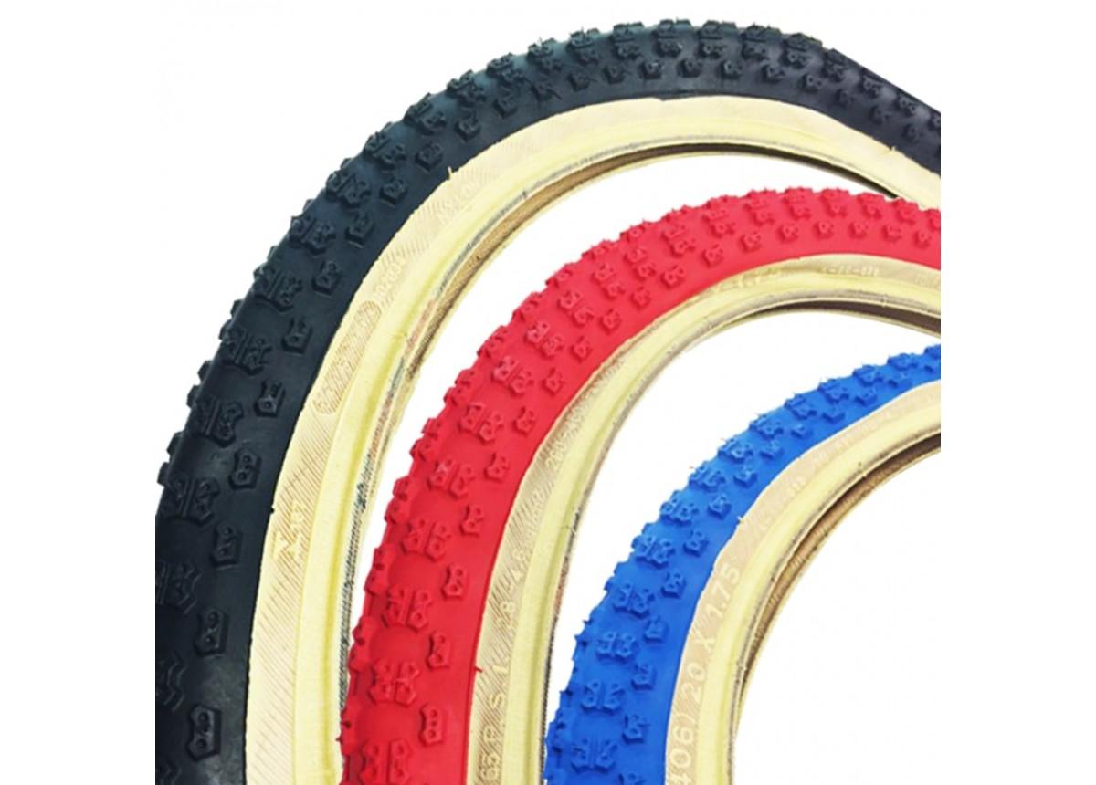 26 x 2.125 Red Comp 3 III tread Kenda Skinwall BMX Tire
