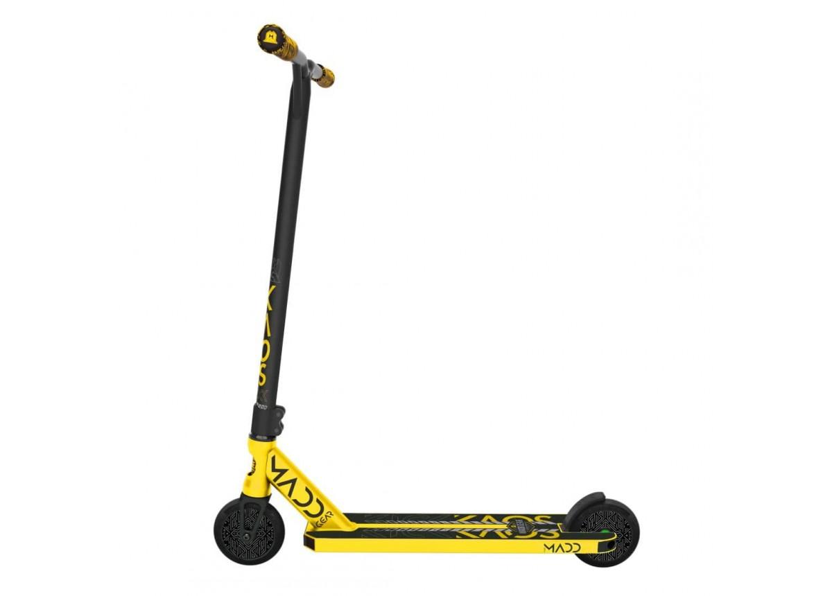 2020 Madd Gear MGP Kick Kaos Scooter - Black/Gold